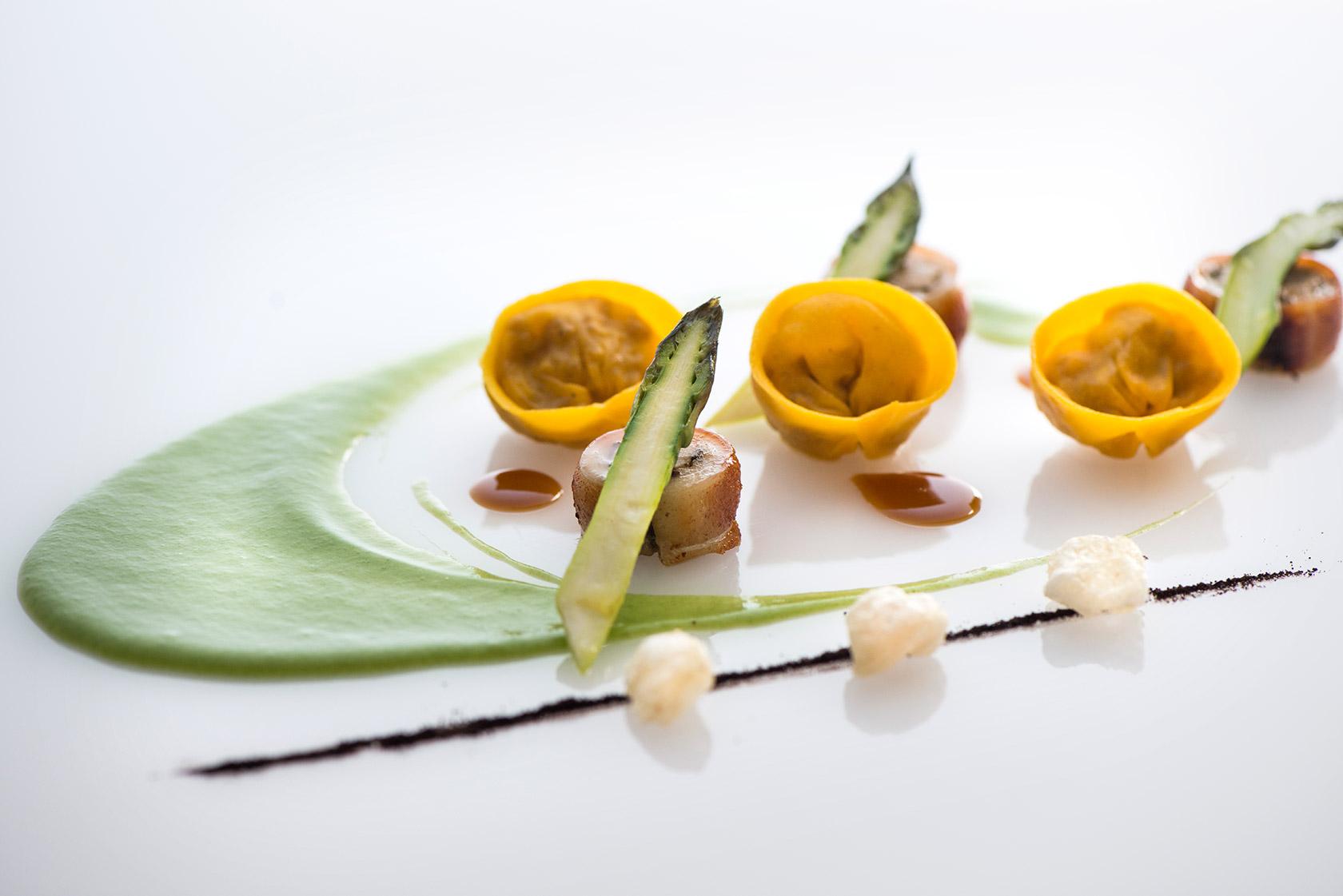 arnolfo-ristorante-tortelli-asparagi-gaetano-trovato-chef
