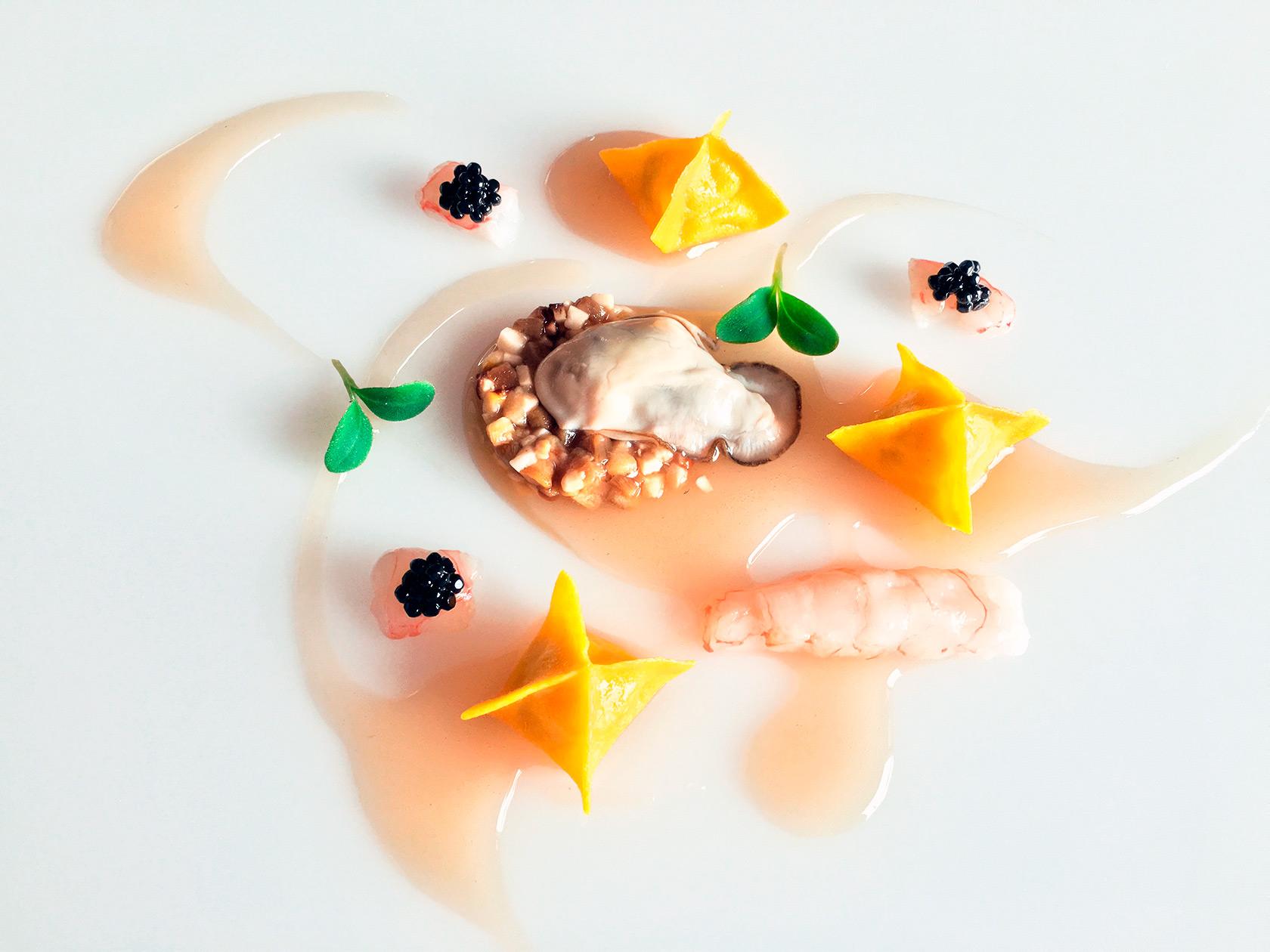 porcini-ostrica-scampi-arnolfo-ristorante_Chef-Gaetano-Trovato